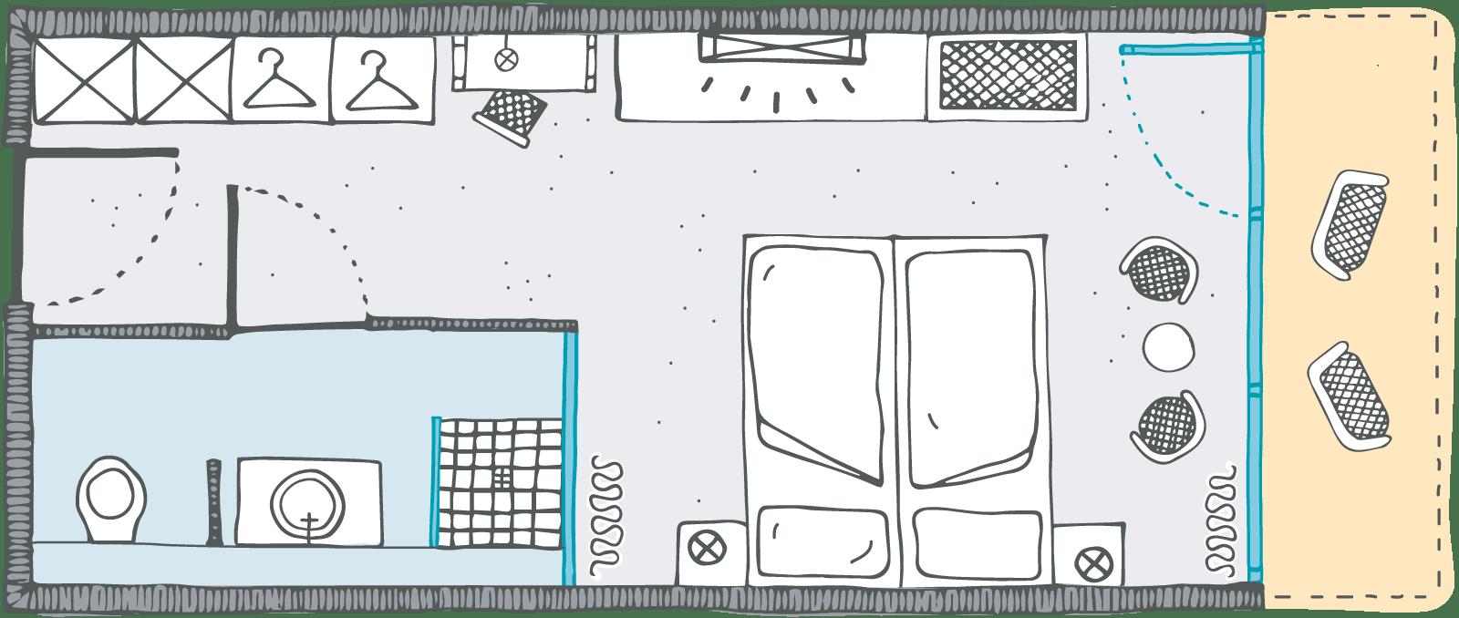 Zimmergrundriss